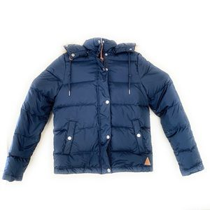 H&M Logg Down Feather Jacket Outdoor blue